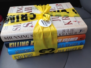 A bundle of books by Minneapolis author Julie Kramer is one of many items that will be auctioned off at Bird Bash.